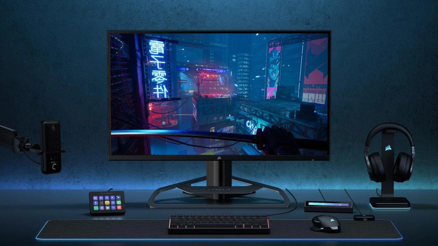 1º monitor gamer da Corsair possui 1440p, 165Hz e 32″