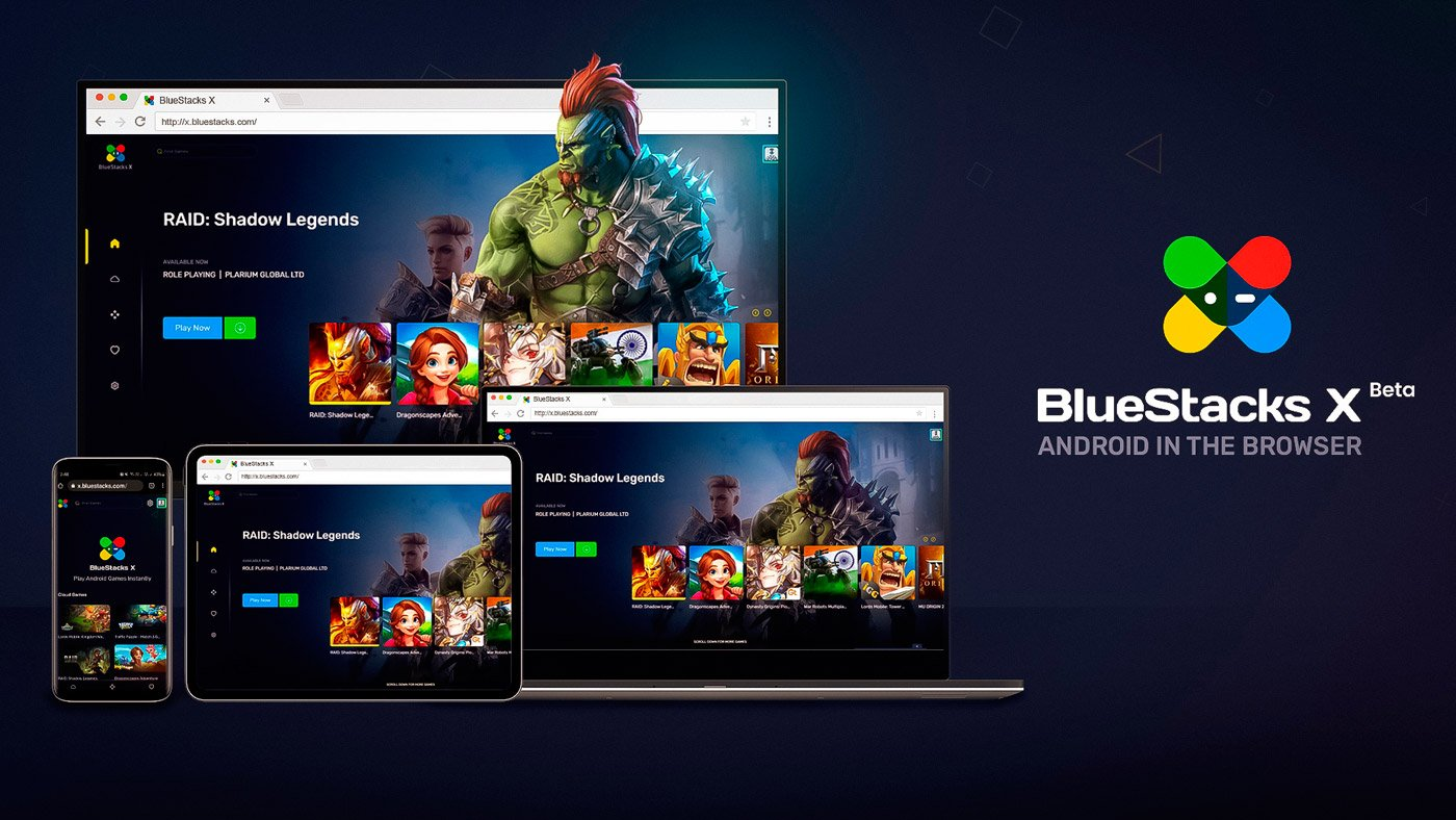 BlueStacks X é lançado oferecendo games mobile de graça na nuvem