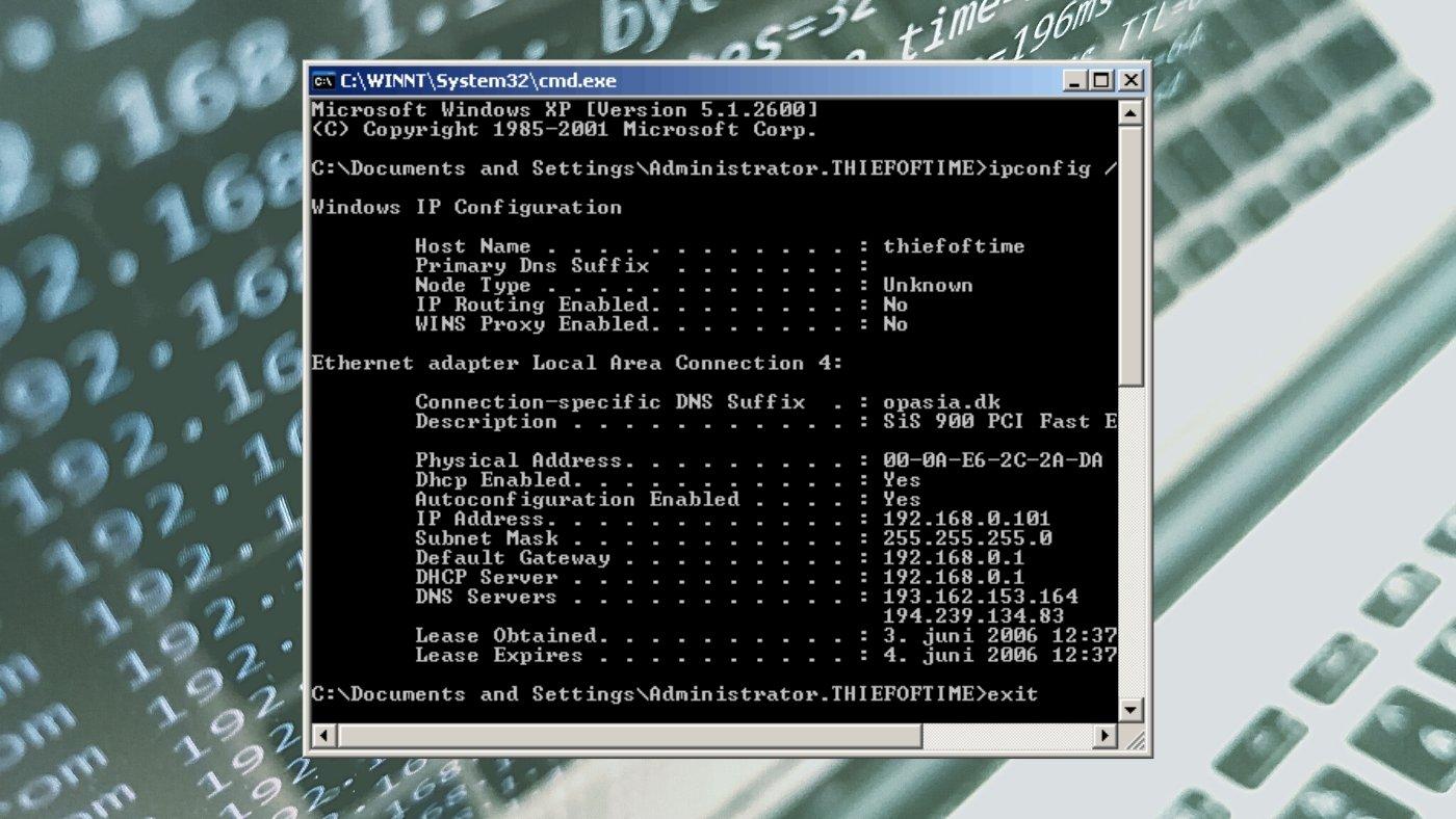 O que é o ipconfig do Windows e para que serve?