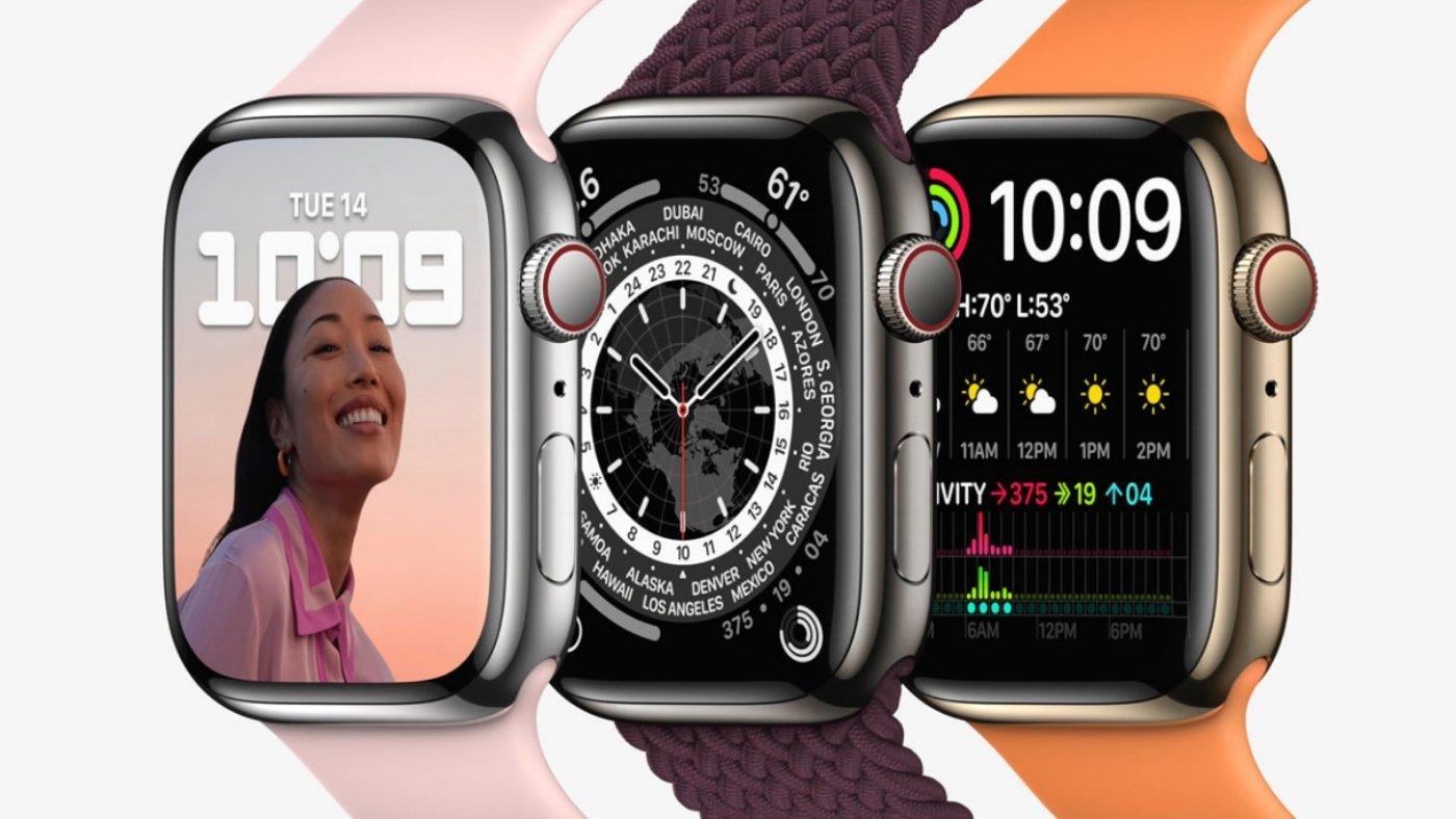 Pré-venda do Apple Watch Series 7 inicia na próxima sexta-feira (08)