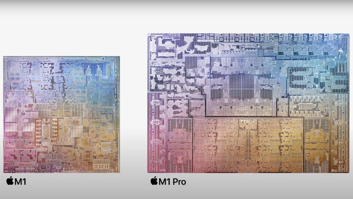 Processadores Apple M1 Pro e M1 Max: Quais as diferenças? Como se comparam ao M1?