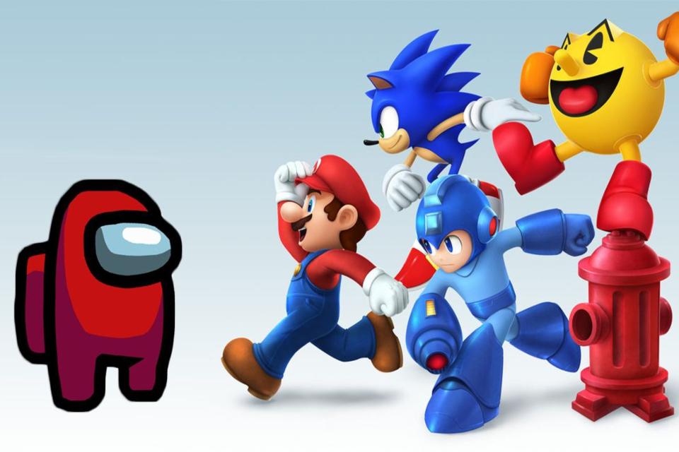 Among Us: artista reimagina personagens em Super Smash Bros.