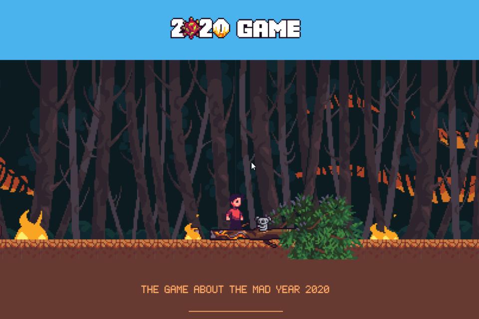 Ano de 2020 vira game que simula toda a loucura dos últimos meses