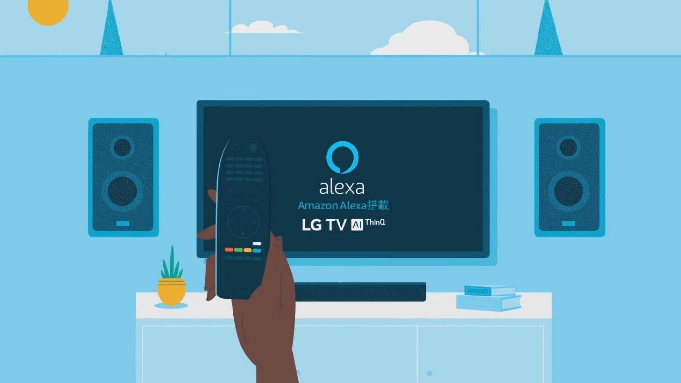Como conectar a Smart TV LG na Alexa