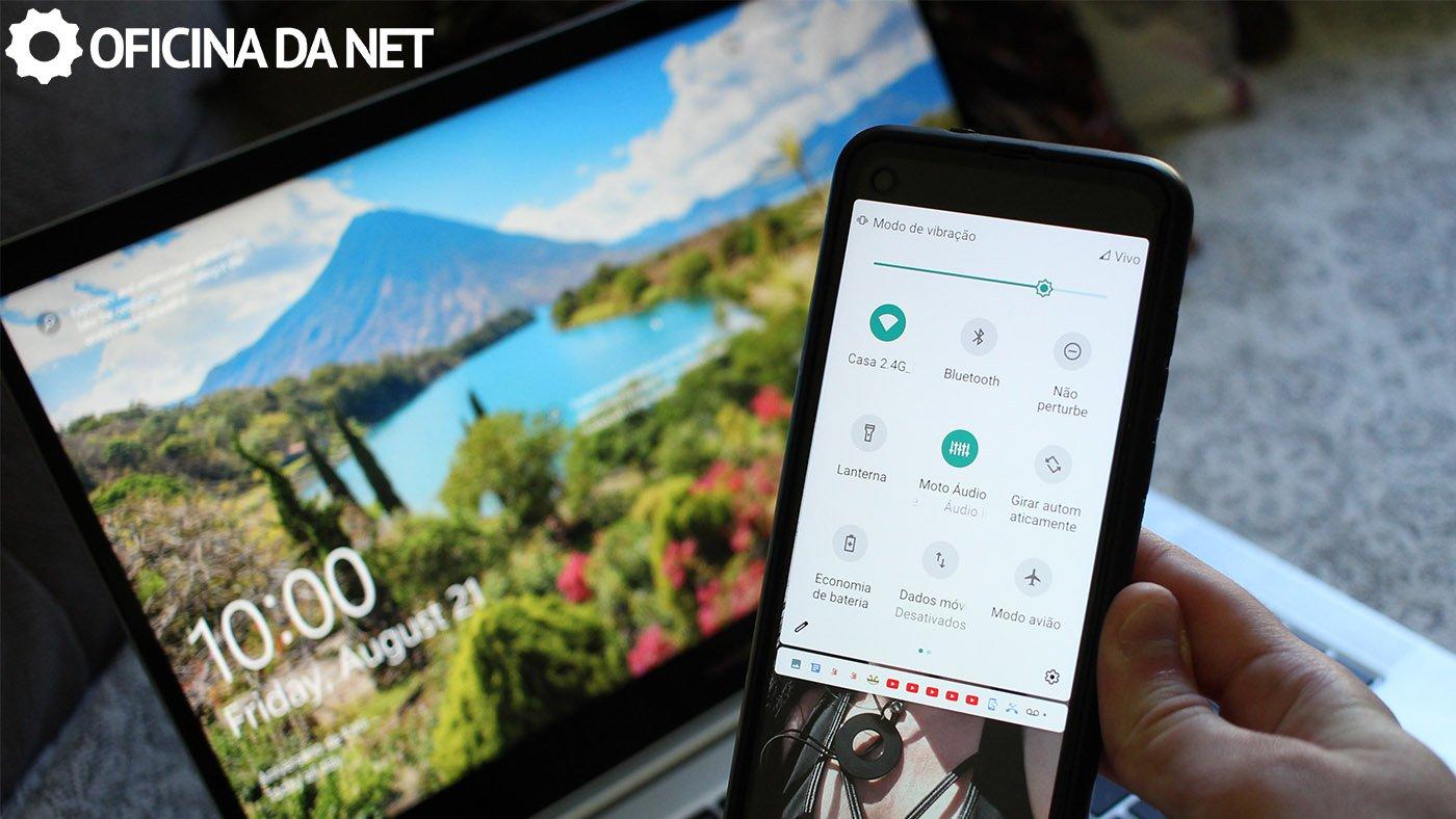Como espelhar a tela do celular Android para o computador?