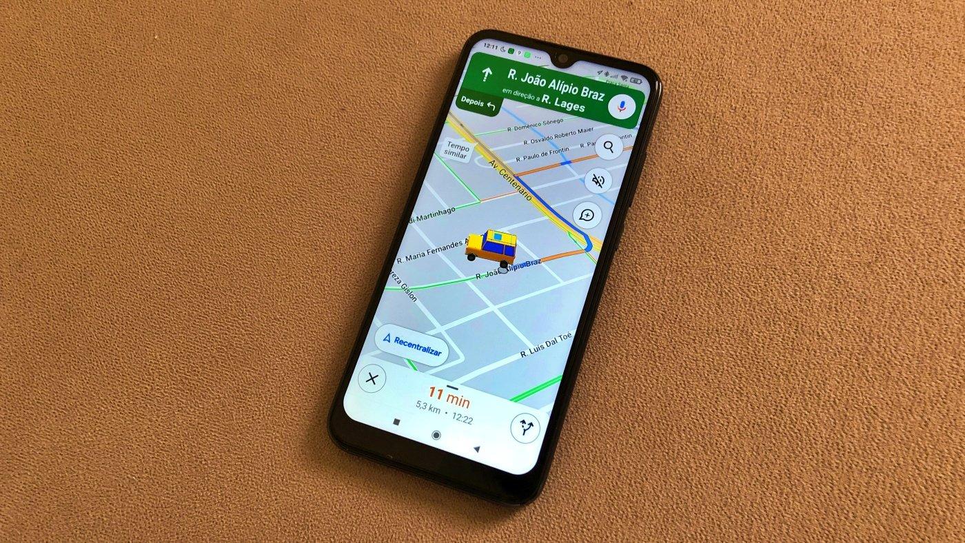 Como mudar o ícone do seu carro no Google Maps?