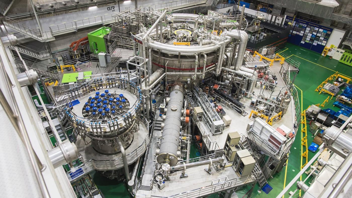 Coreia bate recorde de 20 segundos com seu reator de fusão nuclear