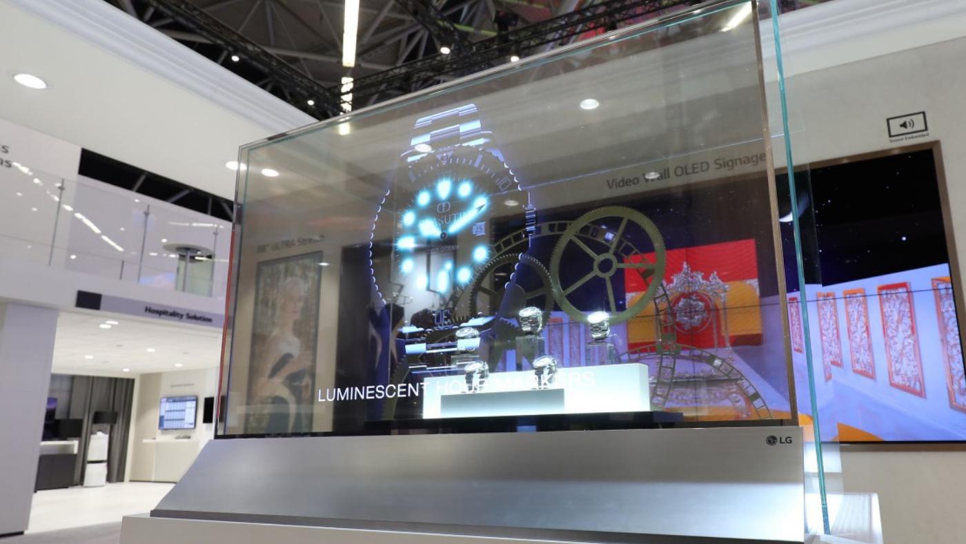 De outro mundo! LG fará demonstração de tela OLED embutida na janela do metrô