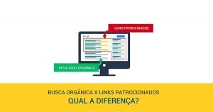 Diferença entre SEO e Links Patrocinados