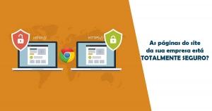 Google Chrome está acabando com protocolo HTTP?