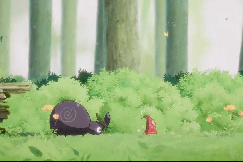 Hoa, game com estética Ghibli, ganha gameplay de 7 minutos