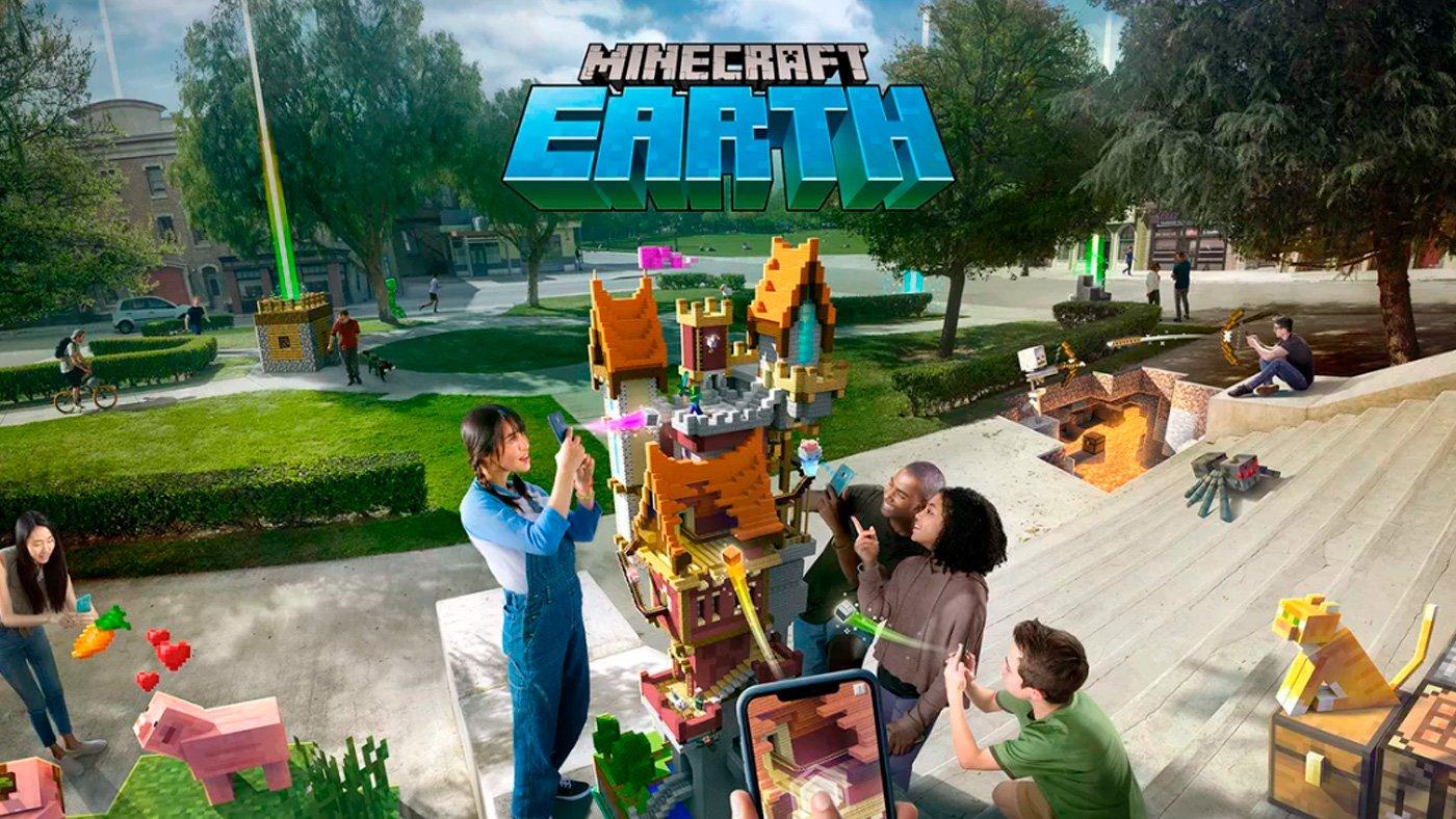 Jogo Minecraft Earth da Microsoft está com os dias contados