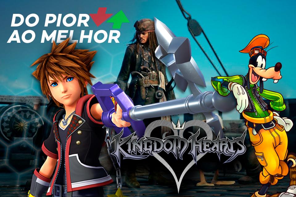 Kingdom Hearts: do pior ao melhor segundo a crítica