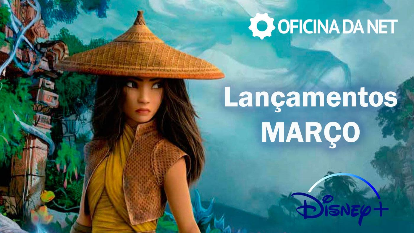 Lançamentos Disney+ em março de 2021