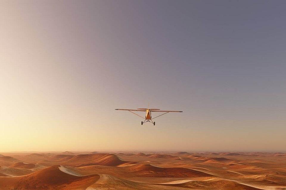 Microsoft Flight Simulator diminui tamanho de download do jogo