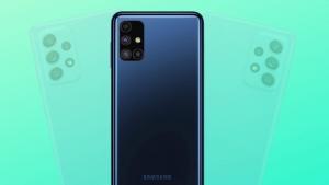 Samsung Galaxy M52 5G com câmera de 64MP e Snapdragon 778G