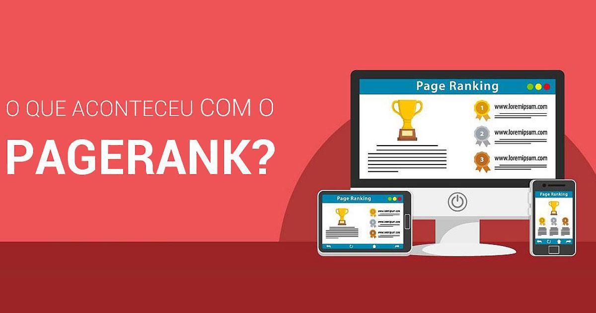 Será que o PageRank do Google acabou?