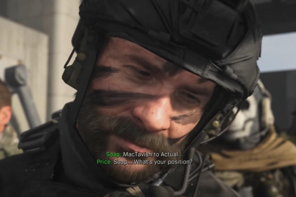 Veterano de Call of Duty, Soap aparece em COD: Warzone