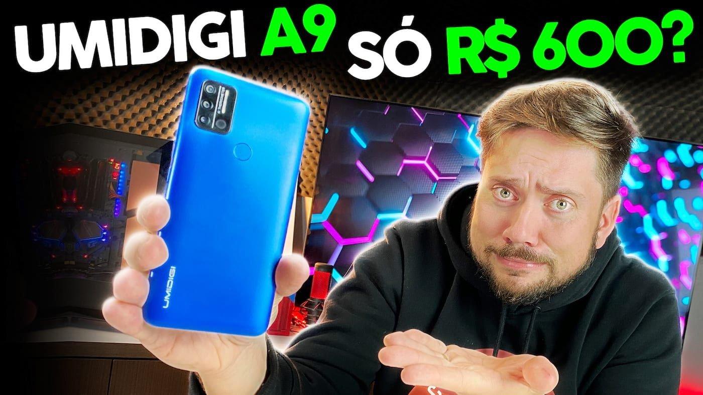 UMIDIGI A9 – Um smartphone de R$ 600 vale a pena?