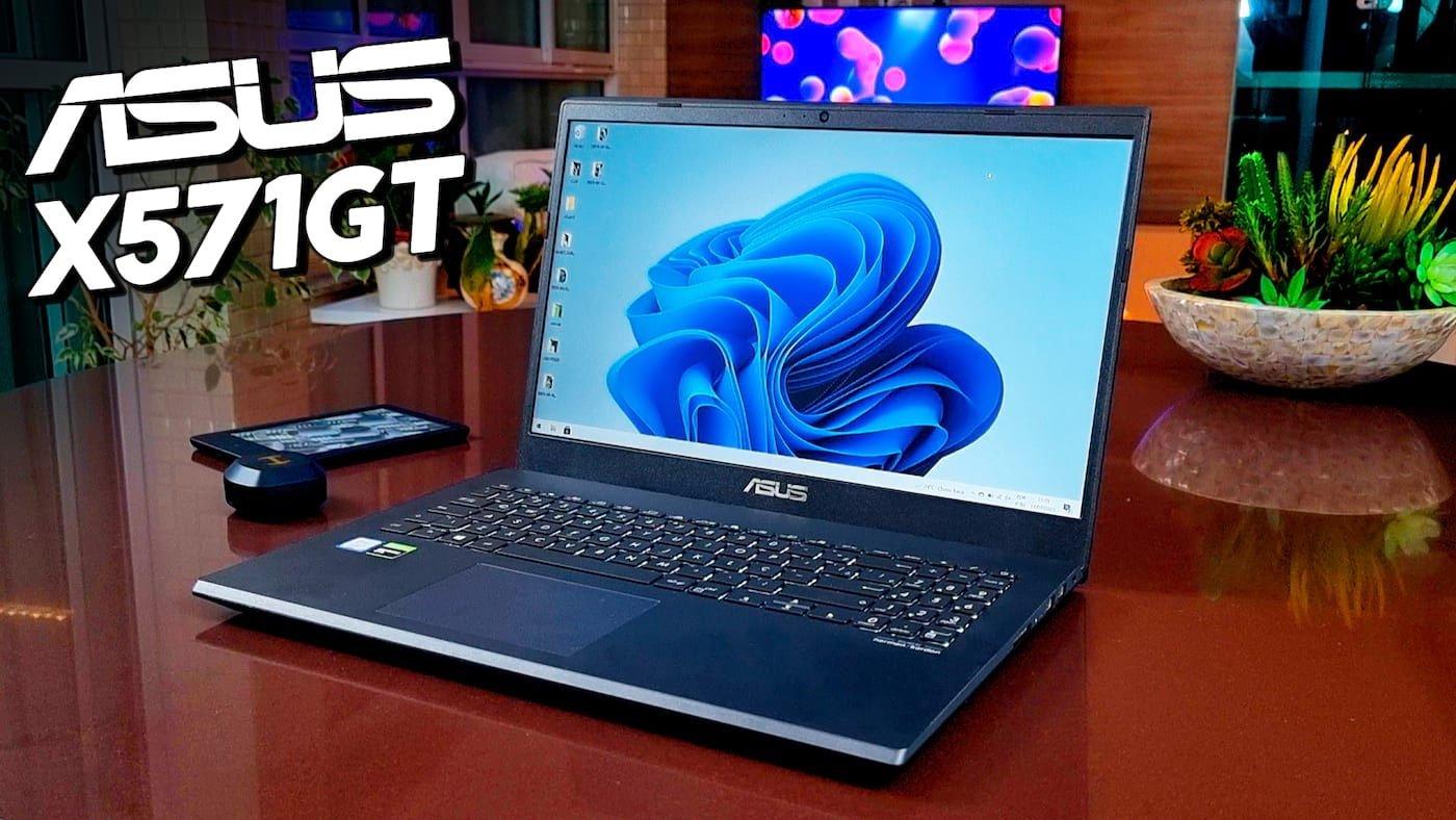 ASUS X571GT REVIEW: Notebook para jogos e trabalho?