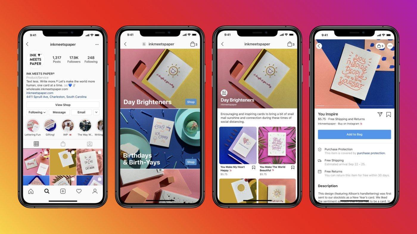 Instagram testa inserir propagandas (Ads) na guia Loja em seu app