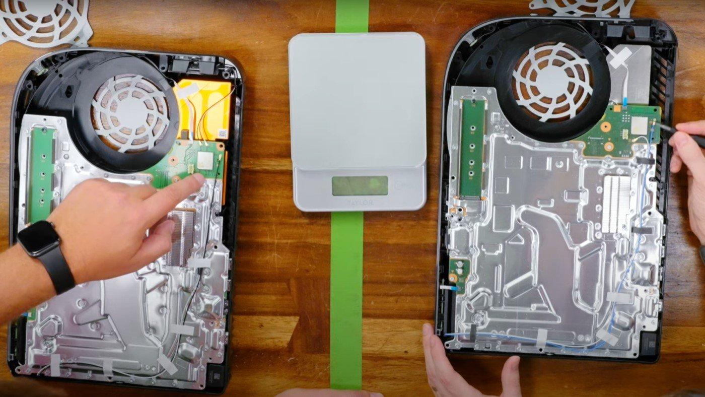 Nova versão do PS5 é desmontada totalmente! Veja quais as diferenças!