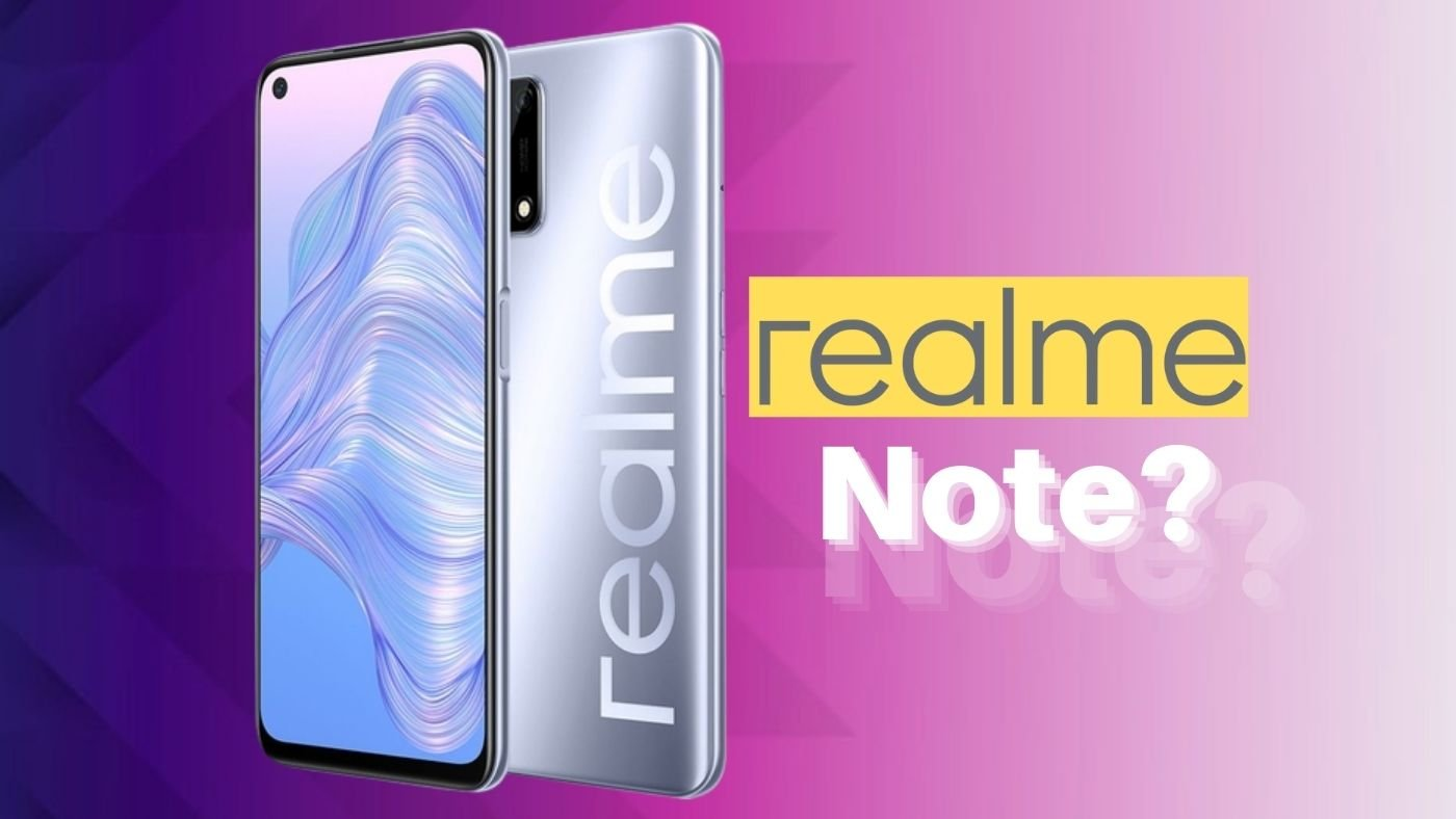 Realme Note 9 pode ser anunciado para rivalizar com os Redmi Note da Xiaomi