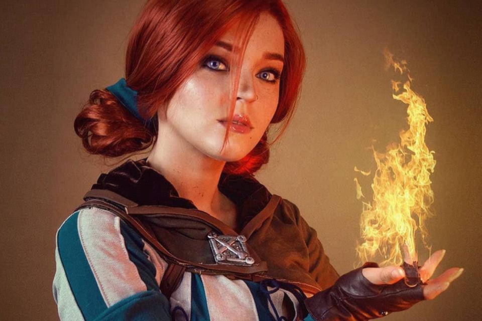 The Witcher 3: cosplay de Triss Merigold surpreende pela semelhança