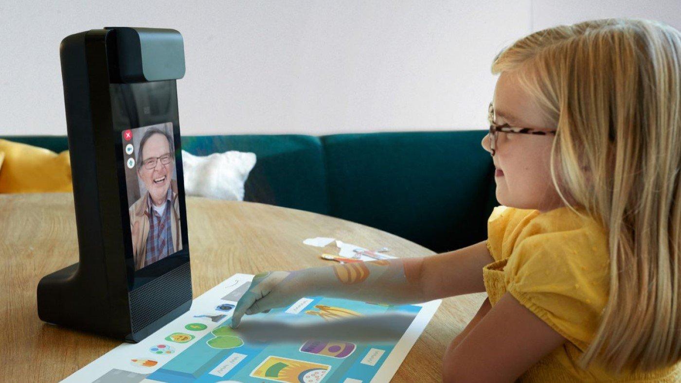 Amazon Glow, um dispositivo criado para ajudar os pais enquanto trabalham
