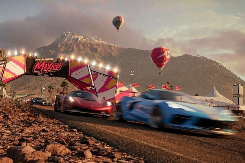 Forza Horizon 5 lança vídeo de 30 minutos com sons da natureza