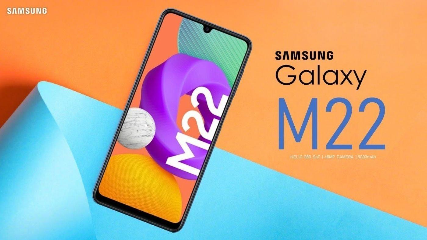 Galaxy M22 chega ao Brasil com câmera quádrupla de 48MP e bateria parruda