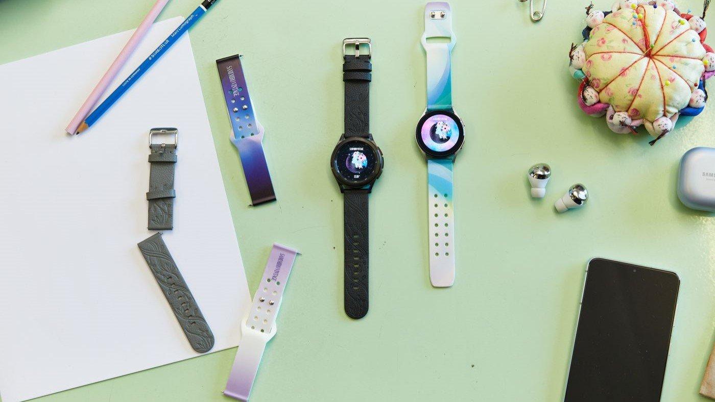 Samsung lança pulseiras feitas de casca de maçã para seus smartwatches